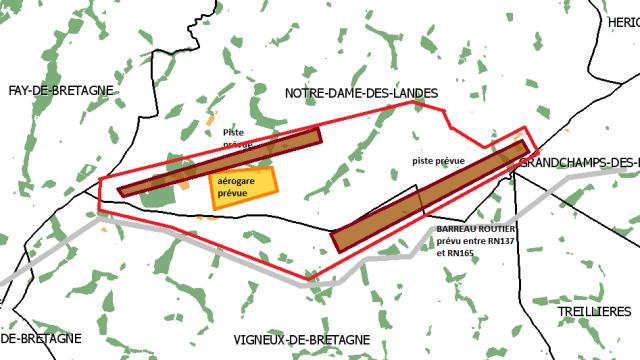 - L'aéroport de Notre-Dame des Landes est illégal dans - Aéroport Notre Dame Des Landes