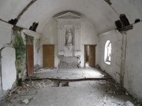 Vue de la chapelle - janvier 2013